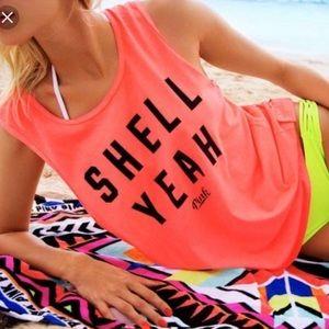 VS Pink Shell Yeah Tank
